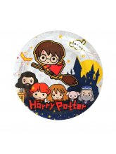 Тарелка бумажная «Гарри Поттер», 18 см, 6 шт.