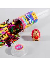 Хлопушка с игрушкой «Хлопушка-сюрприз», ёжики