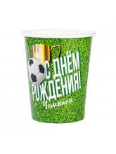 Стакан С ДР Футбол, 250 мл, 6 шт.