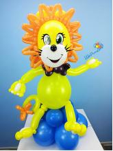 Львёнок с бантиком