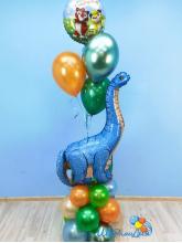 Диплодок с шариками