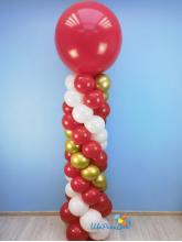 Стойка с большим шаром (2.2 метра)