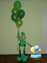 Солдатик с шарами