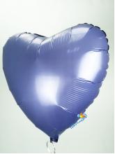 Сердце синее (сатин)