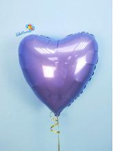 Сердце Аметист  40 см