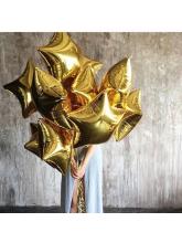 Звезда золотая 40 см