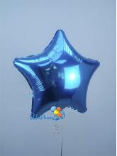 Звезда синяя 40 см