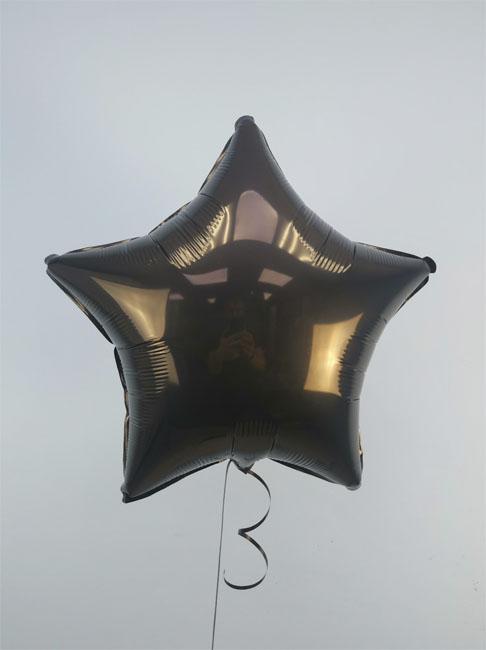 Гелиевый шар Звезда чёрная