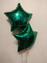 Звезда тёмно-зелёная 40 см