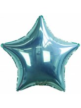 Звезда бирюзовая (Тиффани) 40 см