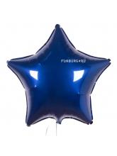 Звезда тёмно-синяя 40 см