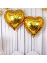 Сердце золотое 65см