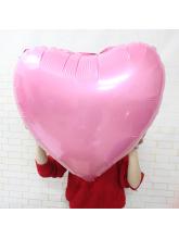 Сердце розовое 65 см