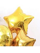 Звезда золотая 65 см