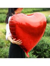 Сердце красное 75 см