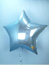 Звезда голубая 75 см