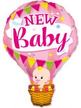 Воздушный шар для девочки, Розовый