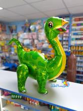 Фольгированный динозавр Стегозавр» зеленый (воздух)
