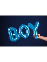 Фольгированный шар, «Boy», голубой,  112см