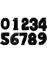 Цифра чёрная