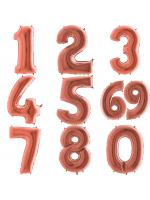 Цифра (розовое золото)