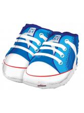 Ботиночки голубые
