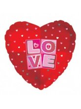 """Сердце """"Love"""" (квадраты)"""