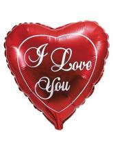 "Сердце ""I love you"" (красное)"