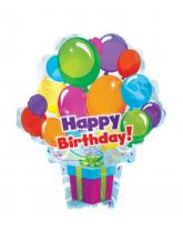 "Связка шаров ""Happy birthday"""