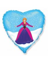 """Сердце """"Холодное сердце"""" Анна"""