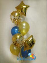 Фонтан  бирюзово-золотой