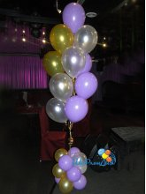 Фонтан из 13 шаров на стойке