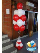 Фонтан из 13 шаров на подставке