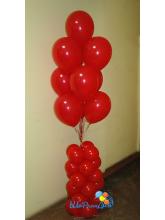 Фонтан из 10 шаров на стойке