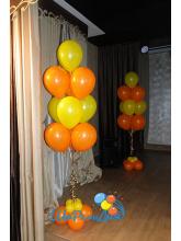 Фонтан из 10 шаров на подставке