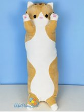 """Мягкая игрушка-подушка """"Рыжий длинный кот"""" 70 см"""