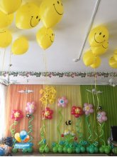 Пчёлки и цветочки
