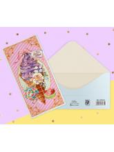 Конверт «С Днем Рождения», мороженое, 16,5 × 8 см