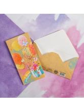 Конверт для денег «С днем рождения!» коробка с цветами, 16,5 × 8 см