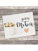 Открытка‒комплимент «Для тебя», нежные цветы, 8 х 6 см