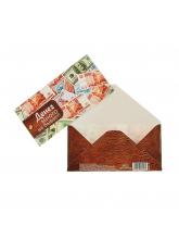 Конверт для денег «Купюры в кошельке», 16,5 × 8 см