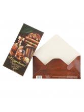Конверт для денег «Поздравляю», 16,5 × 8 см