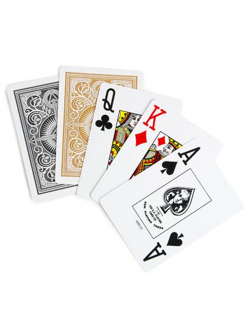 """Игральные карты для покера GOLD–999 """"Золотые"""""""
