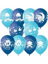 С днем рождения, Малыш! (голубые)