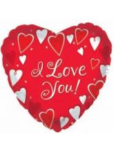 """Сердце """"I love you"""" (классика)"""