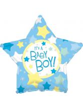 Звезда голубая It's a boy