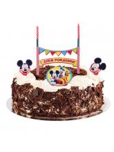 """Набор для торта """"С Днем Рождения"""" Микки Маус"""