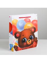 Пакет ламинированный вертикальный «Самому сладкому», 23 × 27 × 8 см