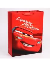 Пакет ламинированный вертикальный McQueen, Тачки, 31x40x11 см