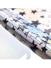 Плёнка упаковочная с голографией Starry sky , 100 × 70 см